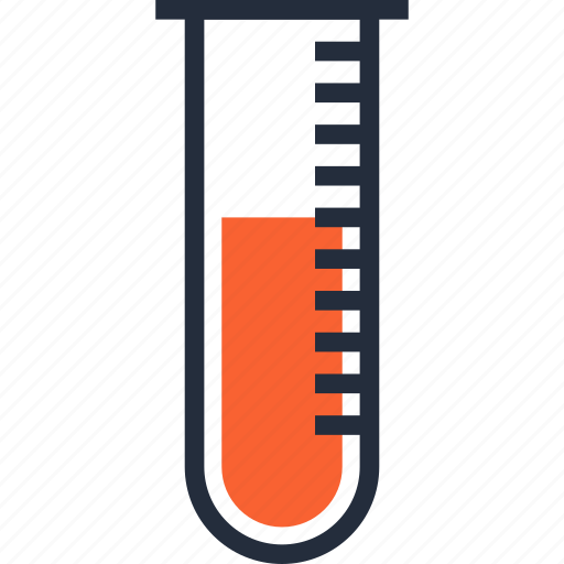 Blood, container, medicine, research, sample, test, tube icon - Download on Iconfinder