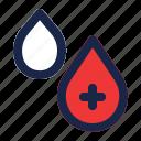 blood, drop, health, healthcare, liquid, medical, water icon