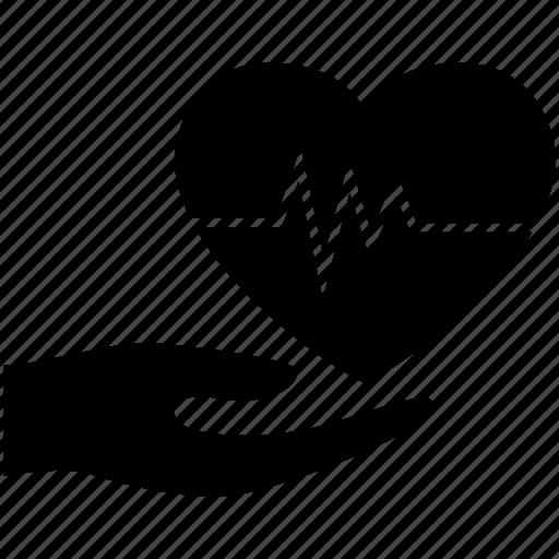 aid, ambulance, beat, cardio, care, health, heart icon