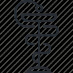 care, health, line, medicine, pharmacy, thin icon
