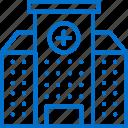 building, center, clinical, facility, hospital, medicine, office icon
