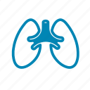 air, anatomy, body, breath, breathe, clean, lungs icon