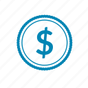 money, coin, currency, price, buy, finance, cash icon