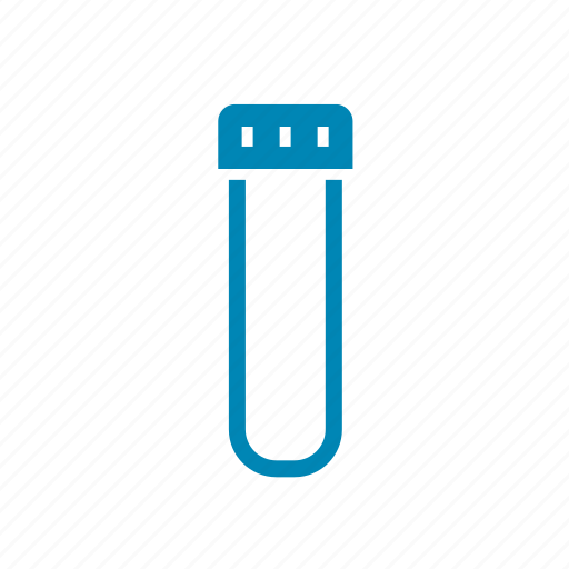 cap, chemistry, experiment, laboratory, test, tube icon
