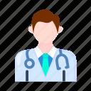 male, doctor, man, avatar
