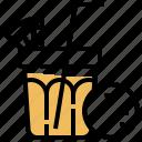 beverage, drink, healthy, nourisging, orange icon