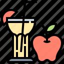 apple, diet, fruit, healthy, juice