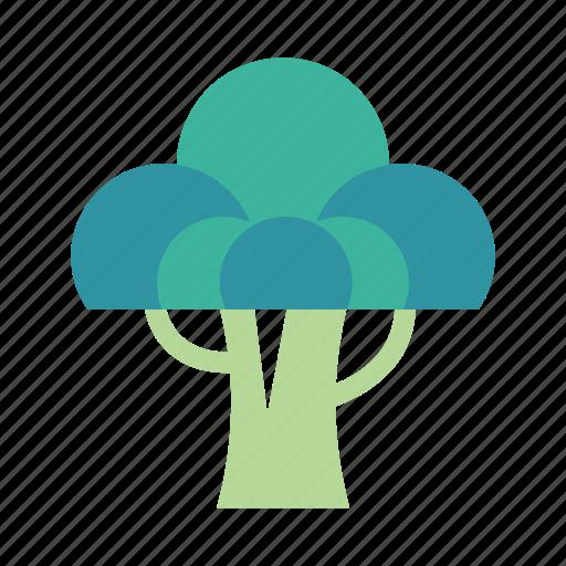 broccoli, diet, healthy, nutrition, organic, vegetable, vegetarian icon