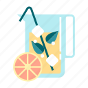 beverage, drink, fresh, fruity, healthy, juice, organic icon
