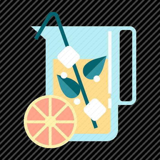 beverage, drink, fresh, fruity, healthy, juice, organic icon