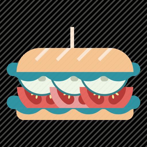 diet, fast food, food, hamburger, healthy, sandwich, vegetables icon