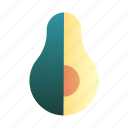avocado, diet, fruit, healthy, nutrition, organic, vegetable icon