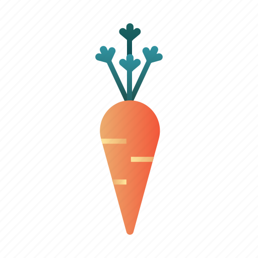 carrot, diet, fresh, healthy, nutrition, organic, vegetable icon