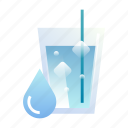 clean, drink, fresh, liquid, mineral, thirsty, water icon