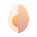 breakfast, cooking, egg, food, healthy, organic, protein icon