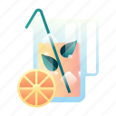 beverage, drink, fresh, fruit, healthy, juice, organic icon