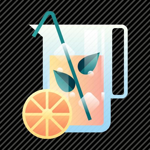beverage, drink, fresh, fruit, healthy, juice, organic icon