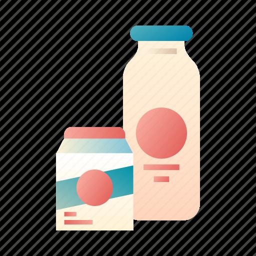 calcium, drink, food, fresh, healthy, milk, nutrient icon