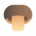 healthy, ingredient, mushroom, organic, vegetable icon