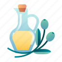 cooking, cuisine, ingredient, kitchen, oil, olive, olive oil icon