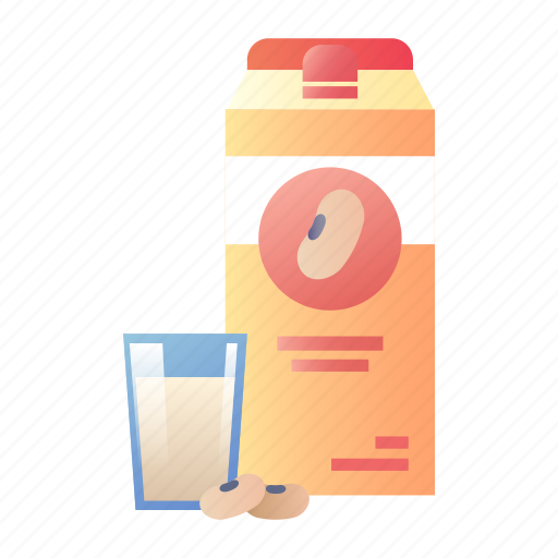 drink, healthy, milk, nutrition, protein, soy, soy milk icon