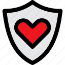heart, health, life, care, shield, secure