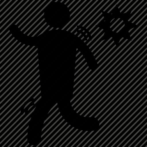 fitness exercise, jogging, morning walk, running, running exercise icon