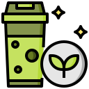 drink, glass, milky, refreshment, smoothie, sweet icon