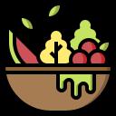 avocado, diet, healthy, organic, salad, vegan icon