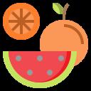 apple, banana, diet, healthy, organic, vegan, vegetarian icon