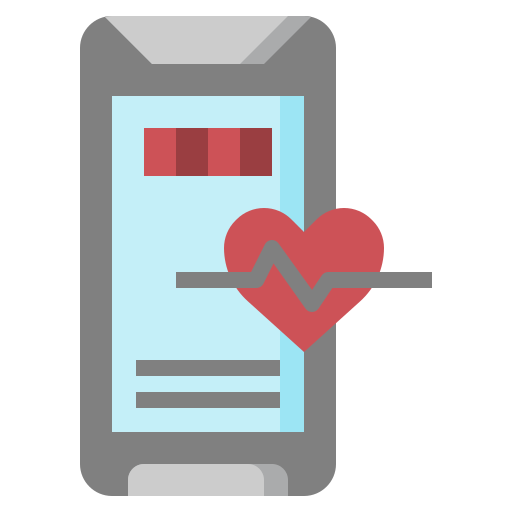 communications, heart, mobile, phone, rate, rating, wellness icon