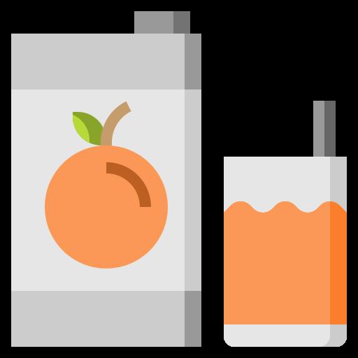 glass, healthy, juice, orange, organic, vegan, vegetarian icon