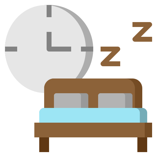 bed, hostel, hotel, night, sleep, slumber, wellness icon