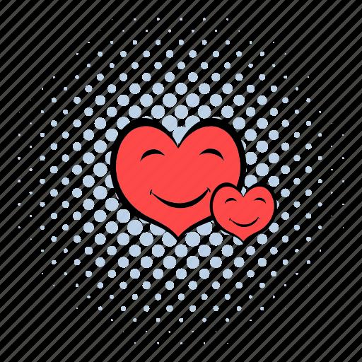 cardiology, care, comics, heartbeat, medical, medicine, pulse icon