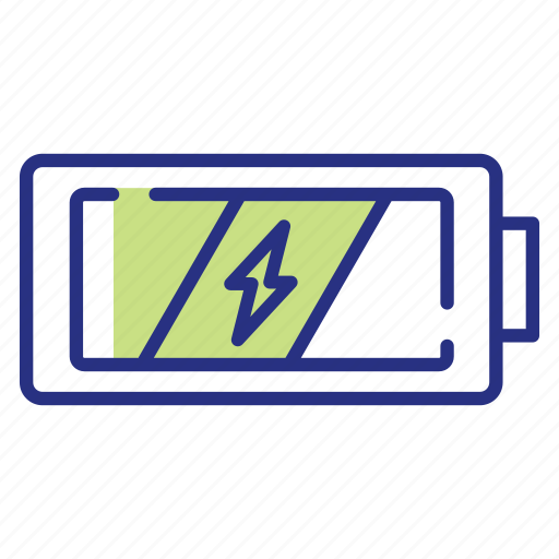 battery, increase energy, power icon