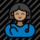 doctor, female, hospital, medicine, healthcare