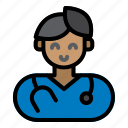 doctor, male, hospital, medicine, healthcare