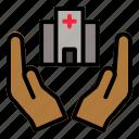 hospital, building, healthcare, health, medical, medicine
