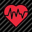 screen, love, rate, medical, pulse