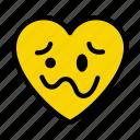 emoji, smiley, emoticon, woozyface, face