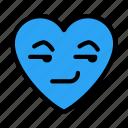 heart, feeling, emoji, smirkingface, emoticon