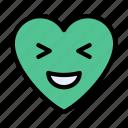 laugh, happy, face, emoji, smiley