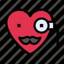 search, heart, feeling, emoji, emoticon