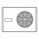 equipment, line, outdoor, outline, outside, system, thin icon