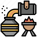 factory, industry, metal, repair, steel, welder, worker icon