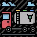 car, fuel, gas, oil, petrol, tanker, truck icon