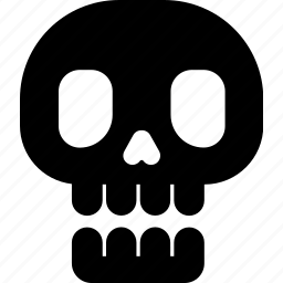 dead, halloween, head, horror, skeleton, skull icon
