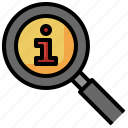 search, seo, and, web, loupe, magnifier, friend icon