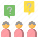 businessman, doubt, faq, man, people, question, user icon