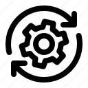 settings, sync, cogwheel, preferences, update, synchronise